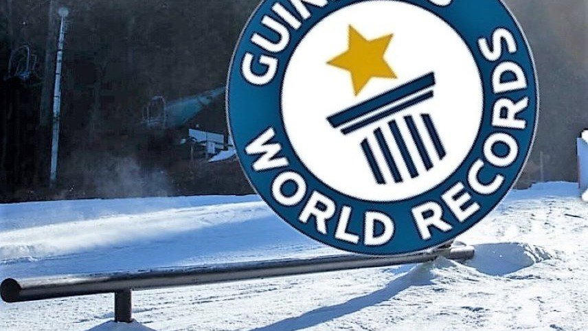 Southern NH Ski Mountain Stepping Up Their Game This Year With Record Breaking Rail.