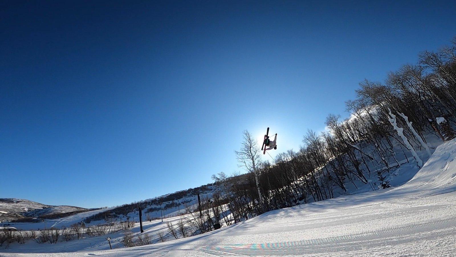 Skier Eclipse