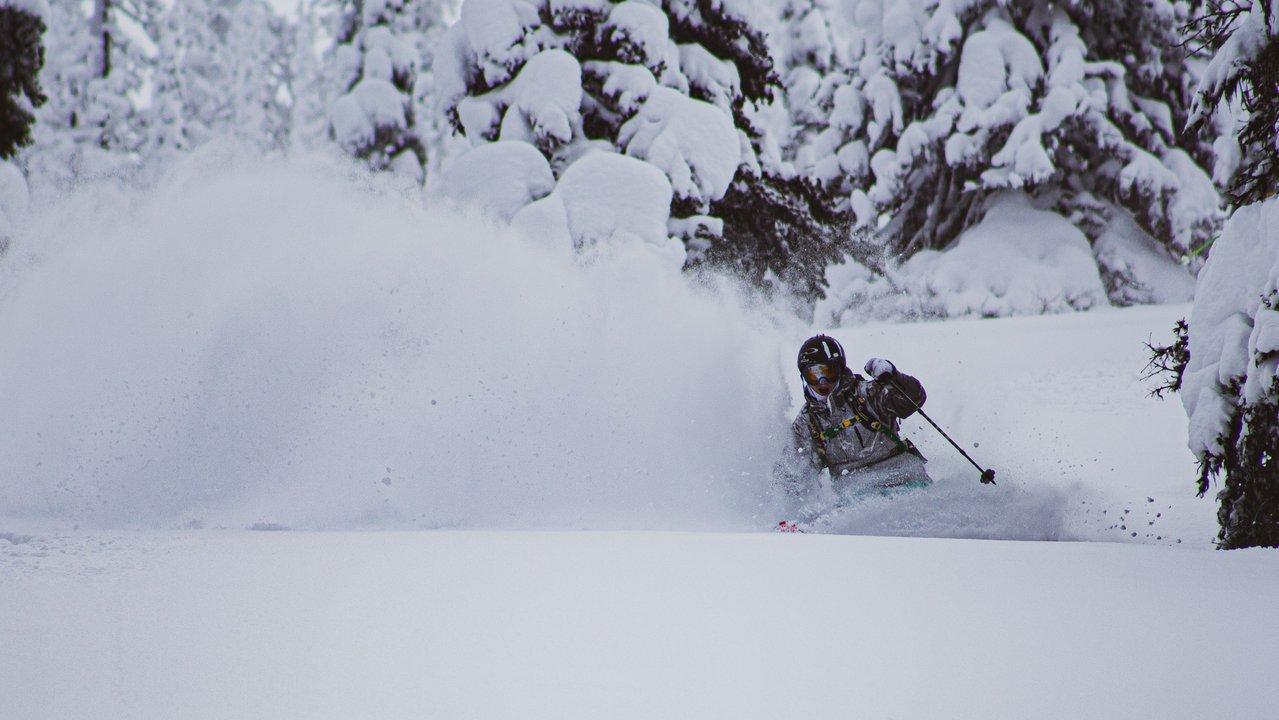 When The Stars Align - Powder Skiing