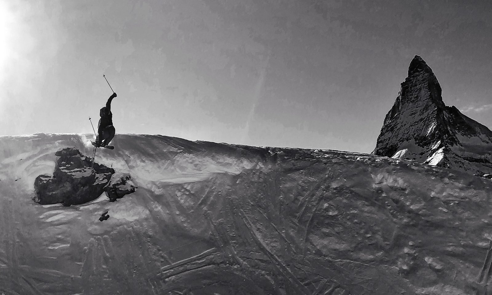 Zermatt Mute Cliff Drop