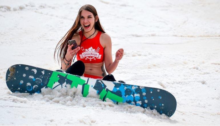 Fun in the snow :)