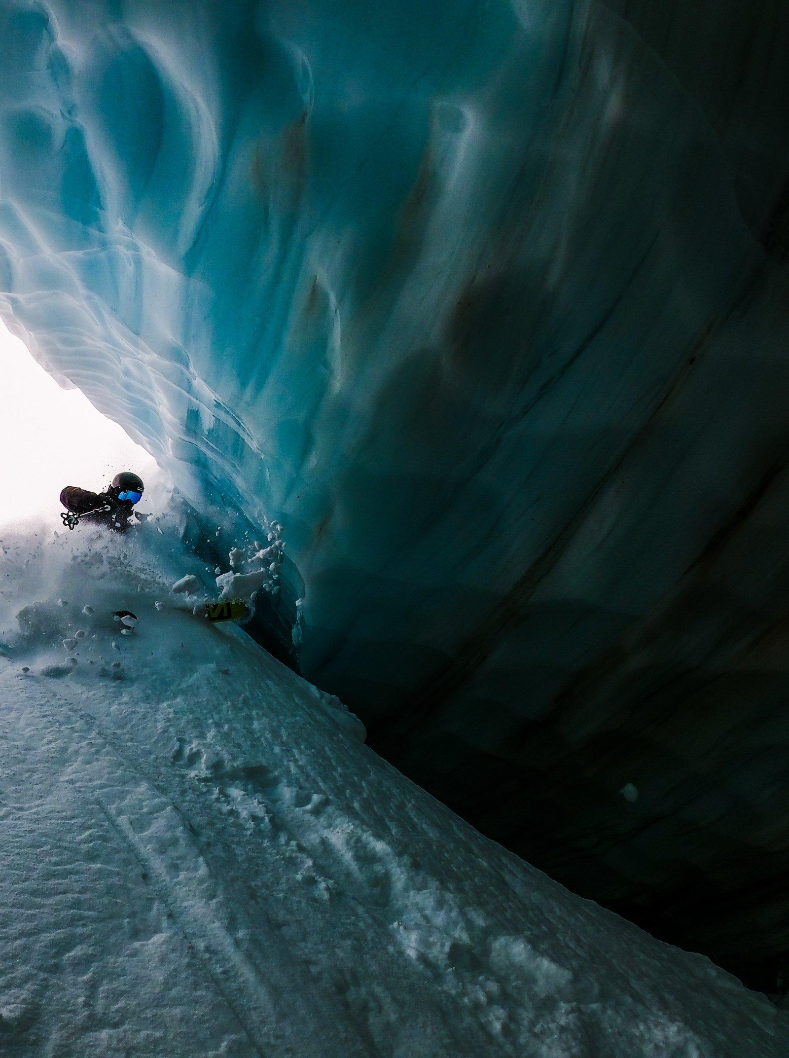 Ice Cave Descent