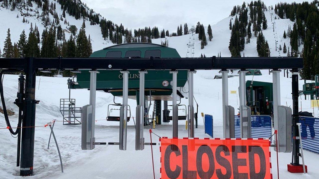Ski Resorts Closing Across North America Due To Coronavirus