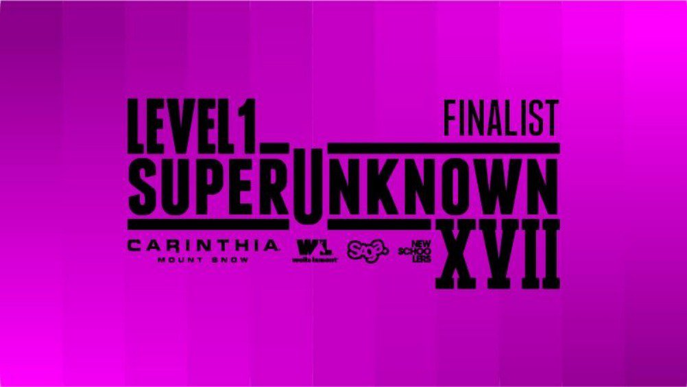 Level 1 SuperUnknown XVII Finalists: Out Now