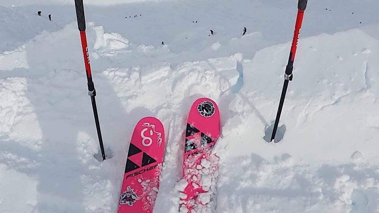 FREE SKIS FROM FISCHER X OUT OF BOUNDS POD - 2021 Fischer Ranger FR 102s
