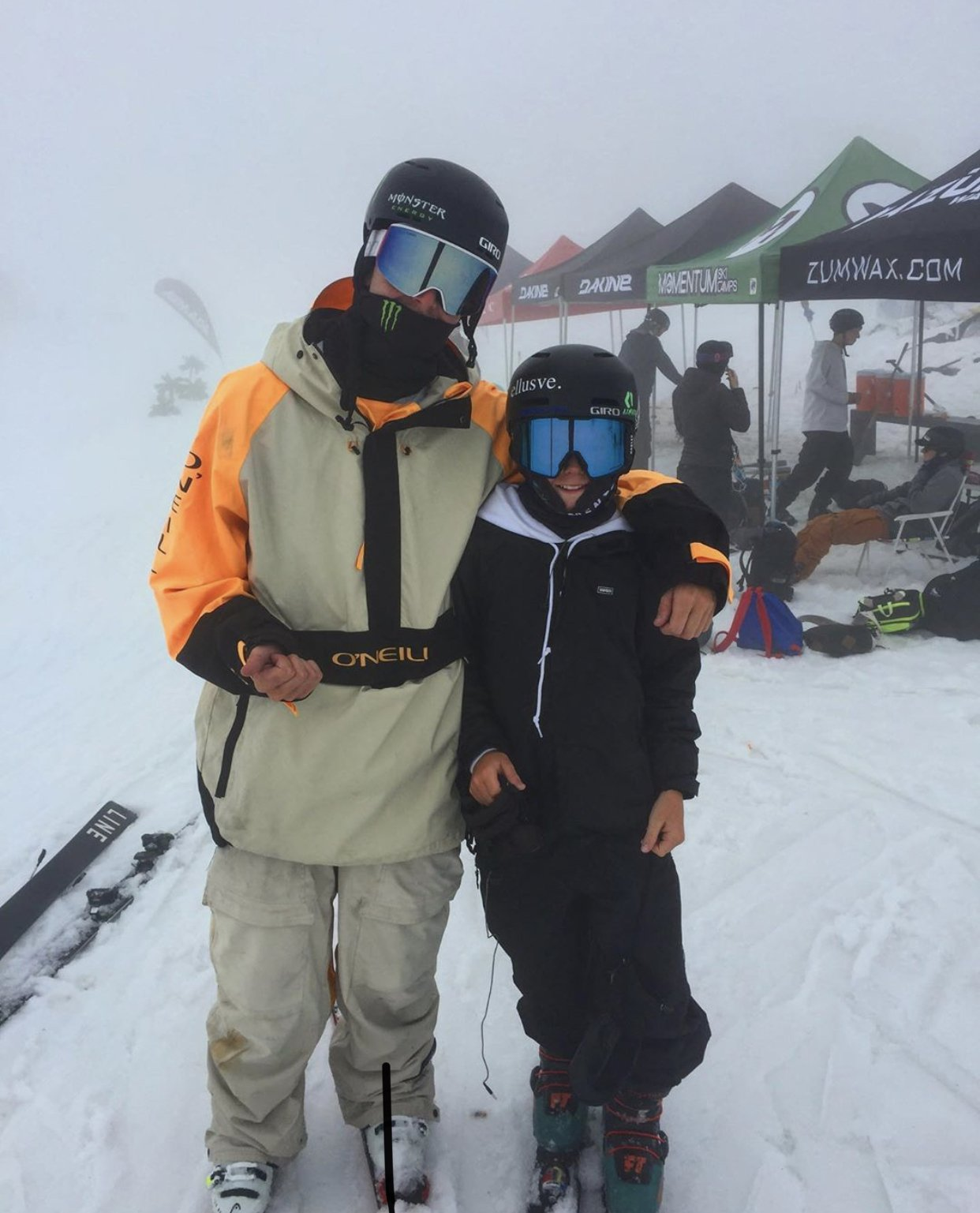 Meet my favourite ski at momentum camps this year Evan mceachran