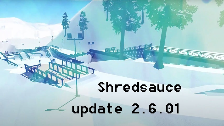 Shredsauce update 2.6.01 is out for the browser, iOS and Android!