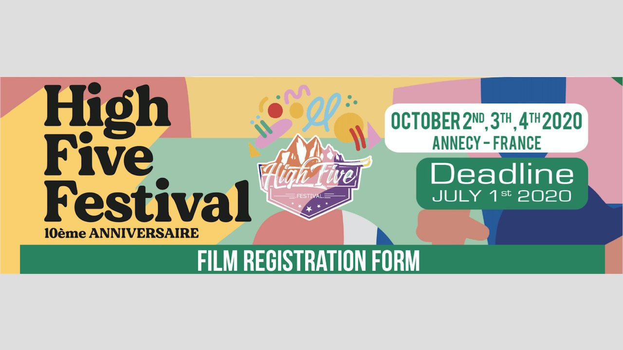 Submit your movie to High Five Festival. Now.