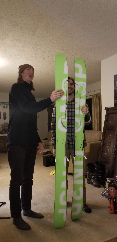 Dick skis
