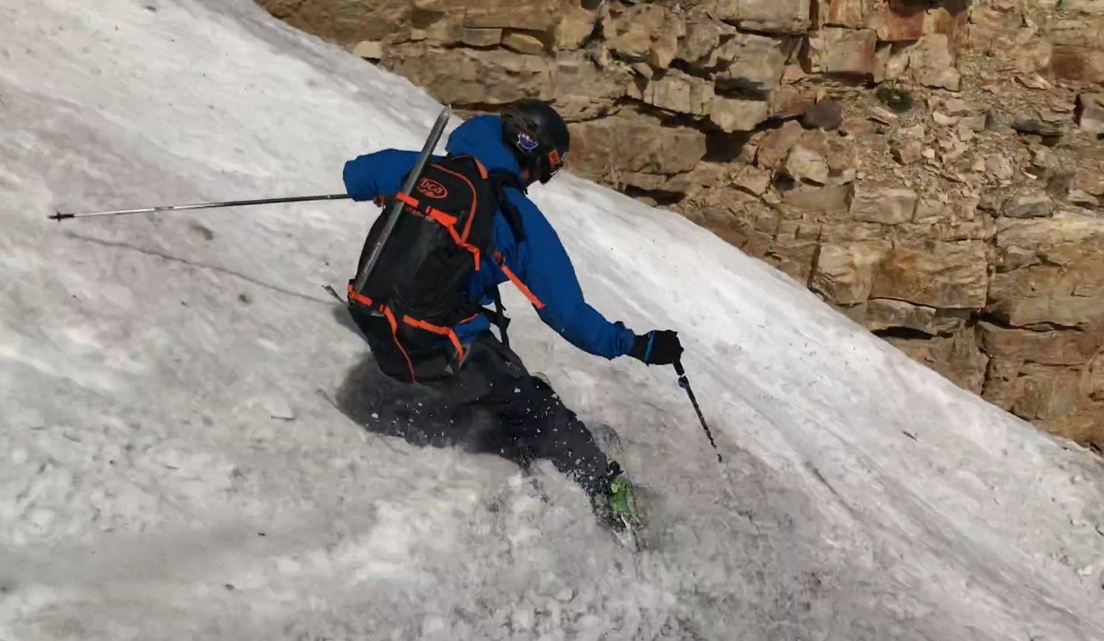 July Snowlerblading