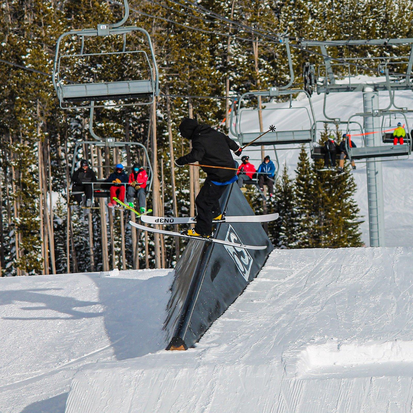 I miss skiing!!