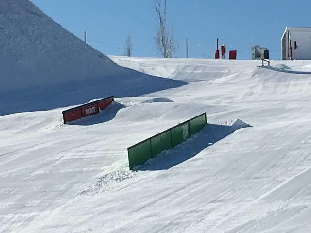 Tips for improving and progressing in rail skiing