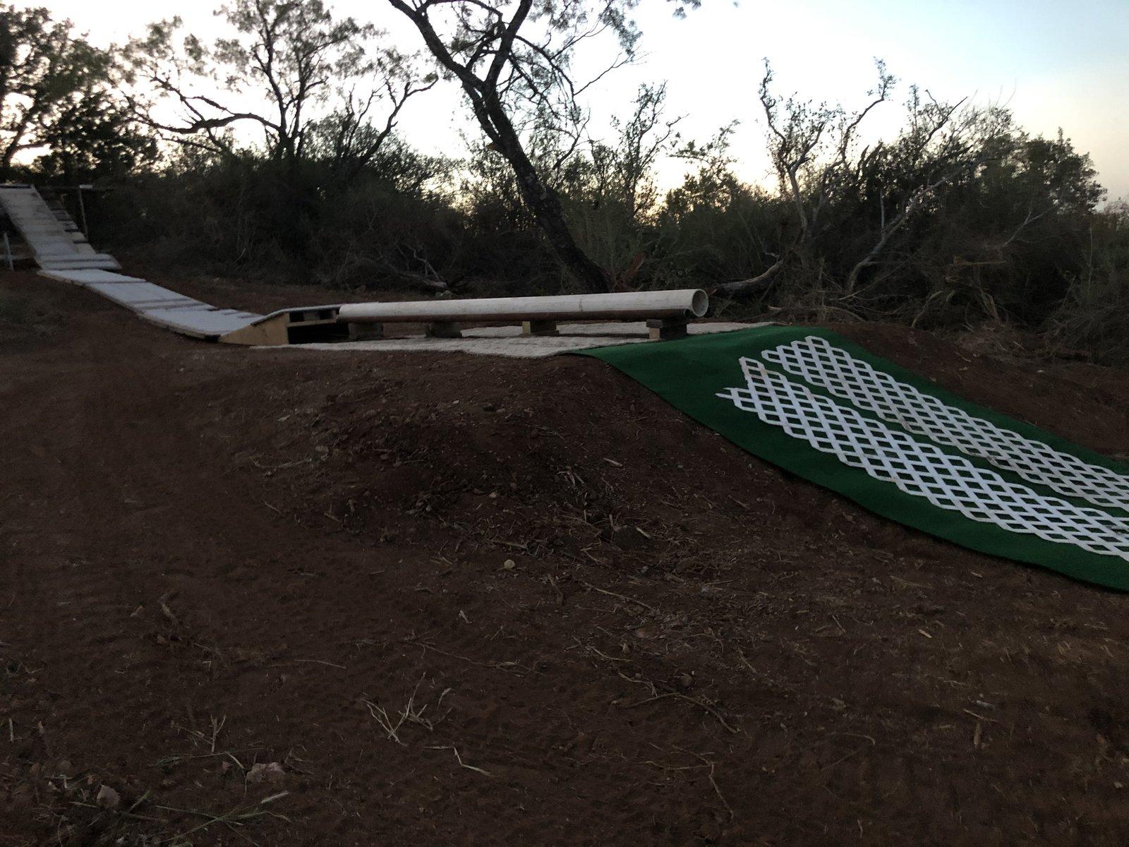 Texas M-Snow backyard set up