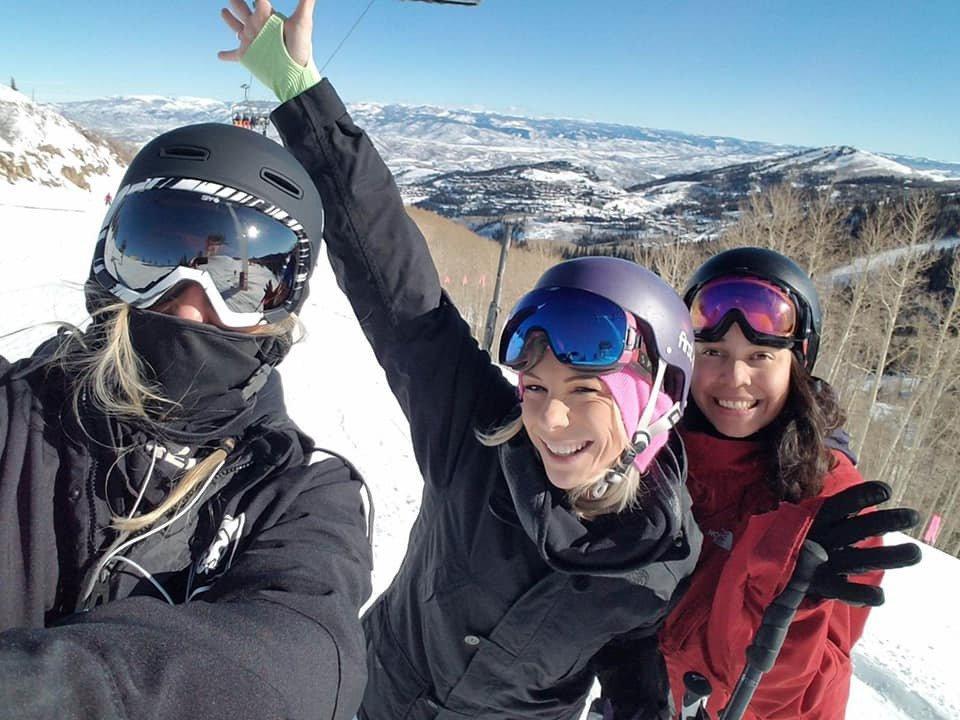Skiing w/ Friends