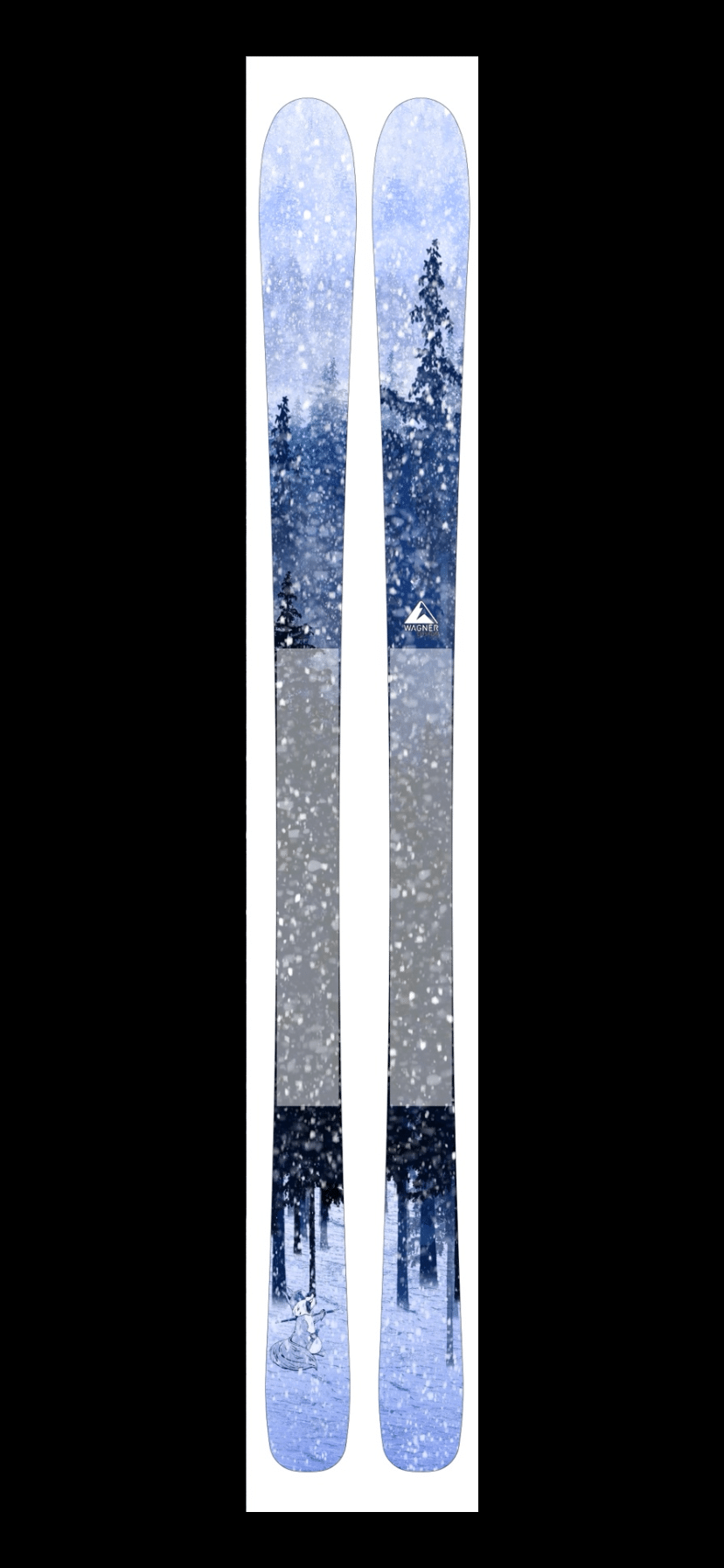 Cindy's Graphic for Wagner Skis