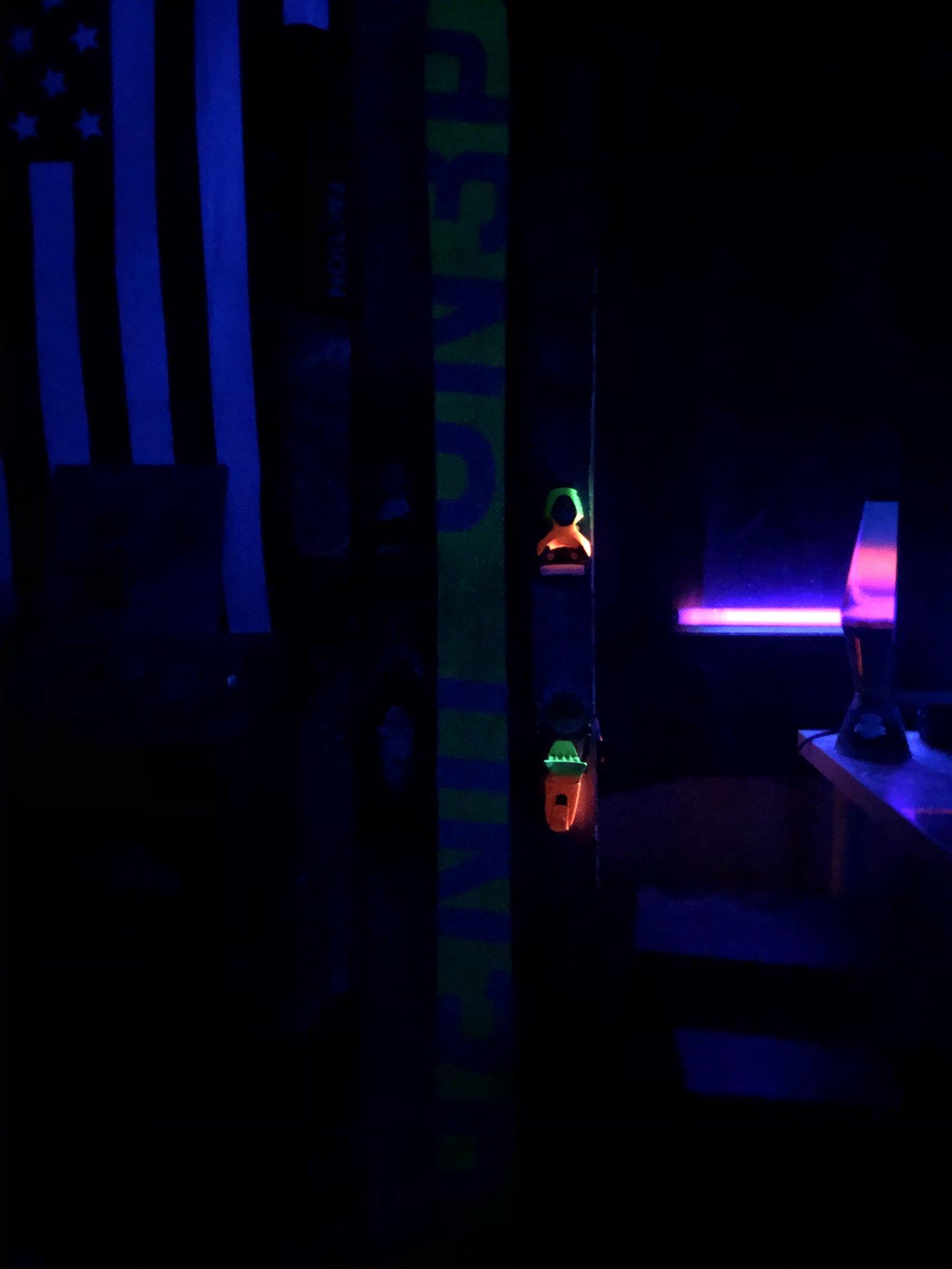 Who knew pivots glow in the dark?