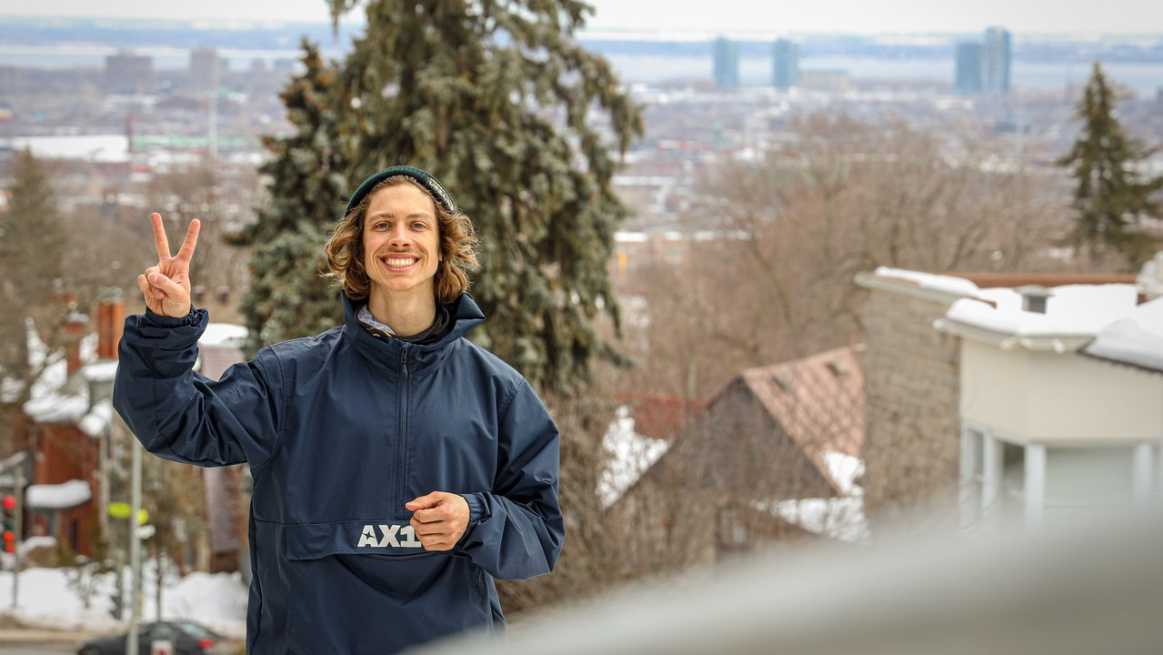 Alex Bellemare on how he made it as a pro skier